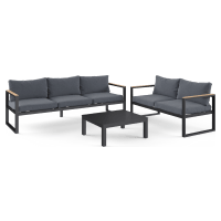 Malibu 3 Seaters & 2 Seaters Outdoor Lounge Set