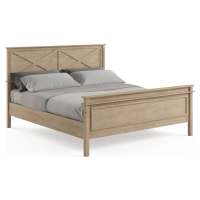 Sorrento King Wooden Bed Frame