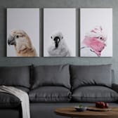 The flock triptych set of 3 lifestyle large copy