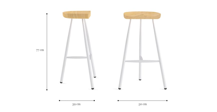 Gibson Bar Stool High