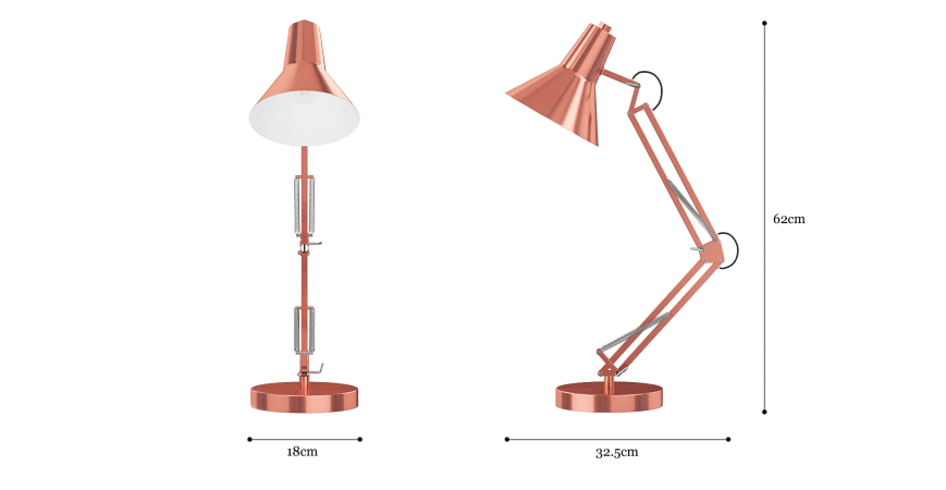 Pictor Spring Table Lamp