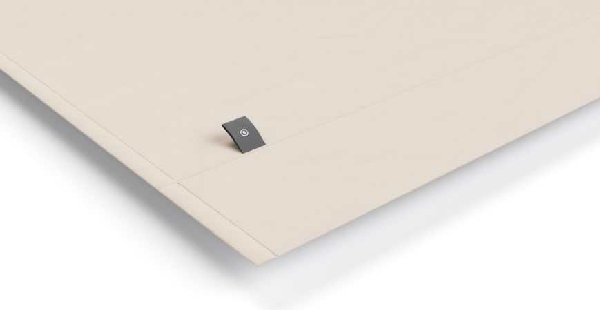 Brosa Essentials Cotton Rich Bed Linen Taupe