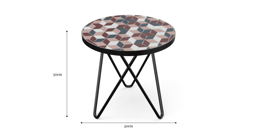Ansel Outdoor Side Table