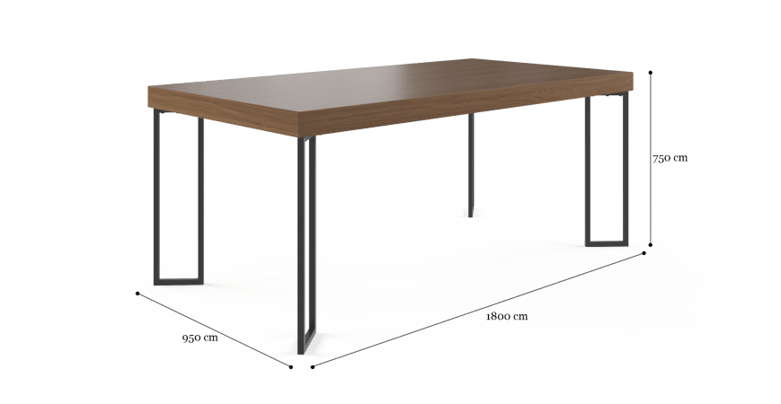 Walter Dining Table 180cm
