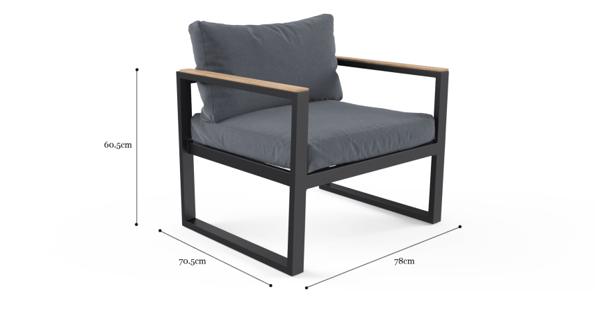 Malibu Outdoor Armchair Set of 2
