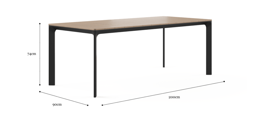 Ipanema Outdoor Dining Table