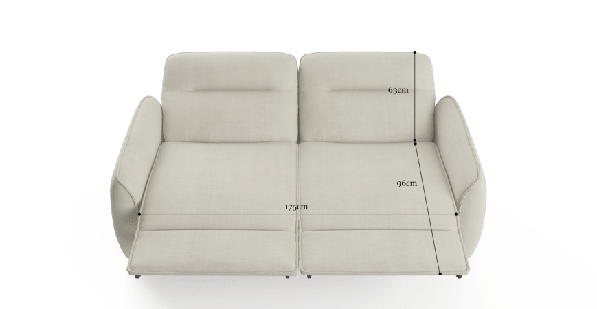 Sloan Electric Loveseat Recliner