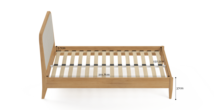 Cleo Queen Size Bed Frame