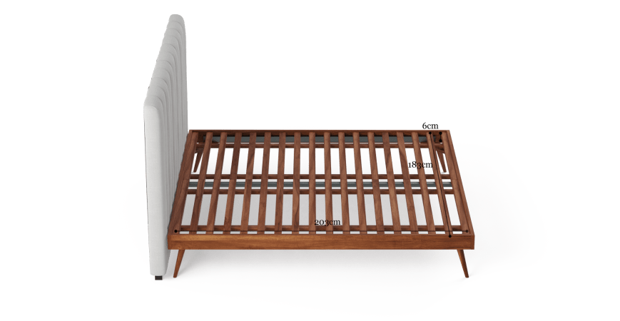 Megan and Frank King Size Bed Frame