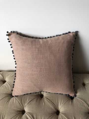 Pallo small cushion 45 x 45cm rose tan 02