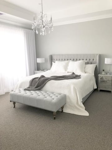 Anica bed helene bench cloud grey