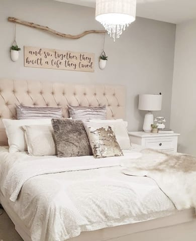 Emily bed head classic cream 01