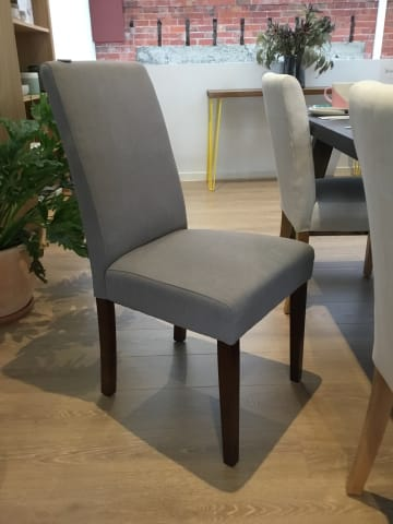 Grace dining chair stone grey w dark brown solid beech 08 %25281%2529