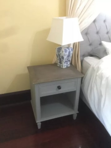 Enzo bedside table distressed grey 01
