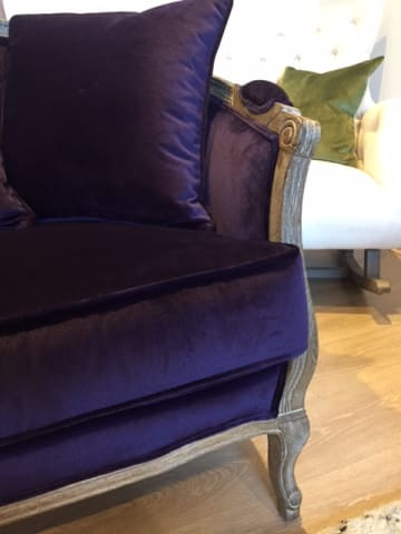 Lucy 2 seater sofa amethyst purple 04