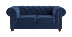 Notting Hill Velvet Chesterfield 3 Seater Sofa