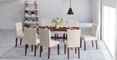 Dining Set Elizabeth Dining Table 8x Espen® Dining Chairs