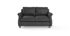 Rolley Leather 2 Seater Sofa