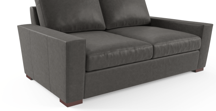 Manhattan Leather 2 Seater Sofa