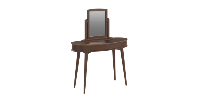 Dressing Table Mirror Stool Set Ethan