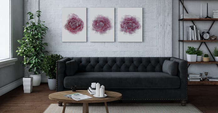 The Blossom Triptych Set of 3