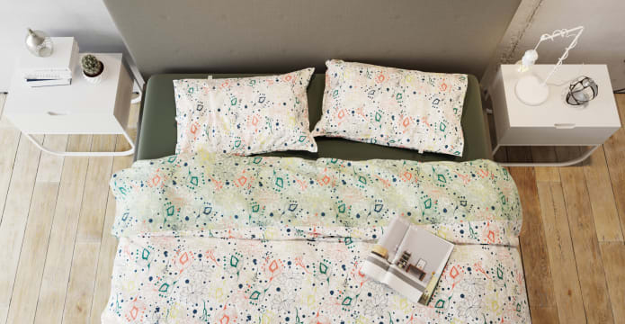 Flower Style Duvet Cover Set