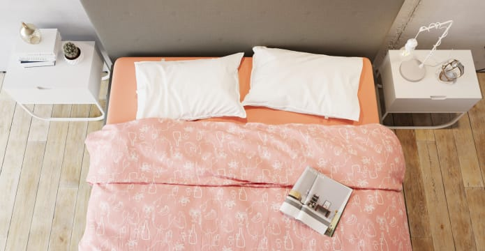 Modern Girl Duvet Cover Set