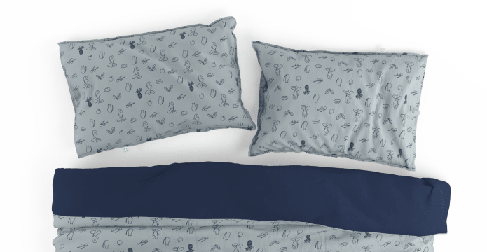 Arty Girl Duvet Cover Set