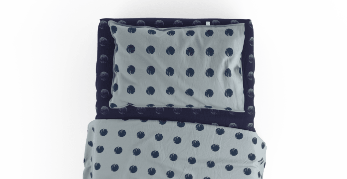 Finger Print Standard Sheet Set