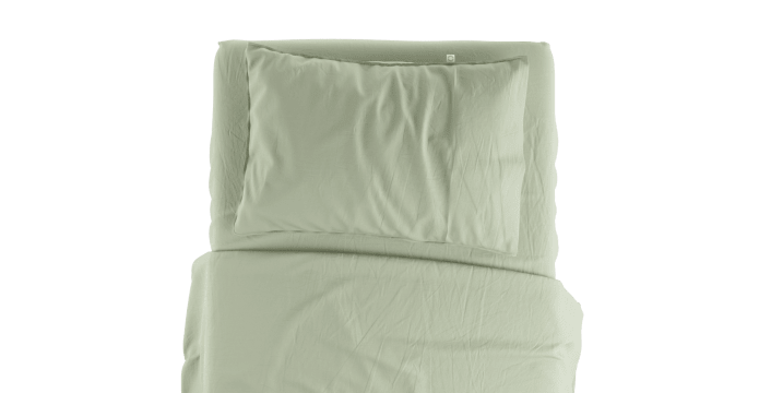 Supima Cotton Green Lily Standard Sheet Set