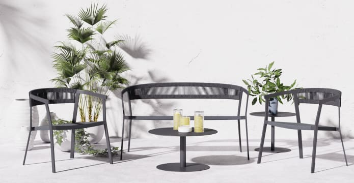 Cancun 5 Piece Outdoor Lounge Set