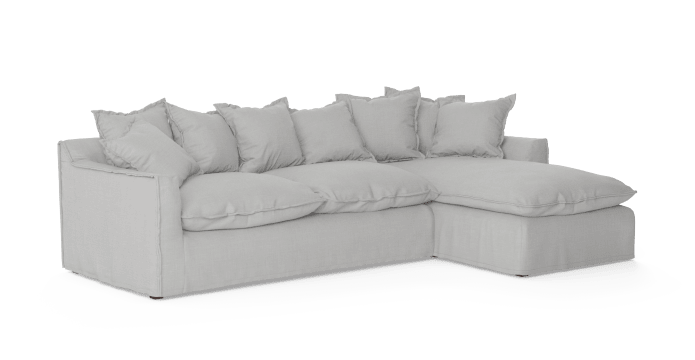 Slip Cover Set for Palermo 3 Seater Modular Sofa with Chaise