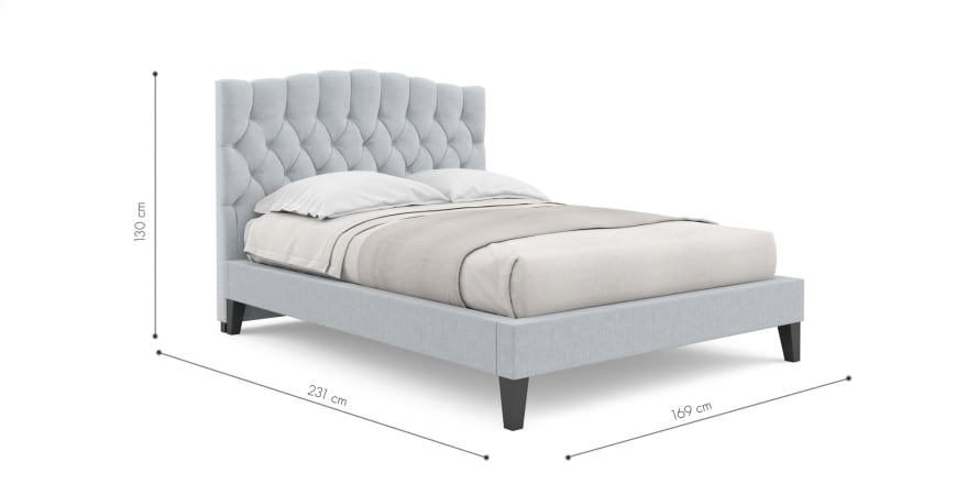 Hannah Queen Size Bed Frame