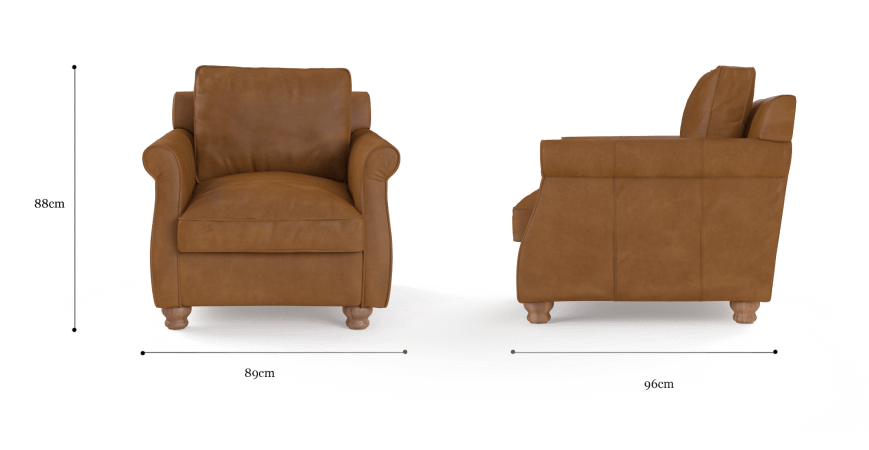 Rolley Leather Armchair