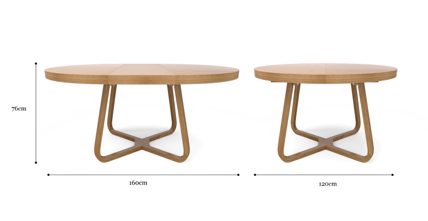 Romulus Extendable Dining Table
