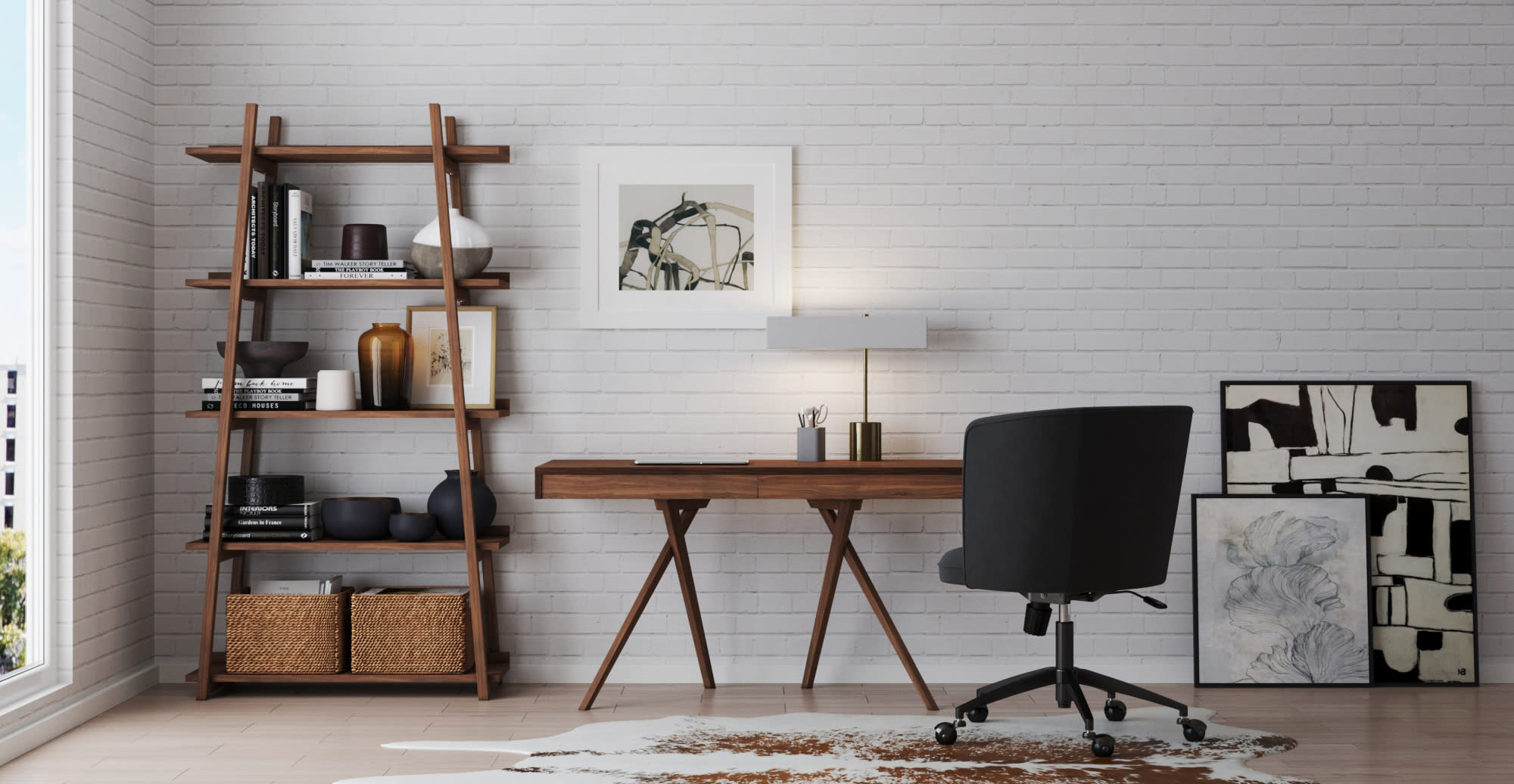 organising your home office space