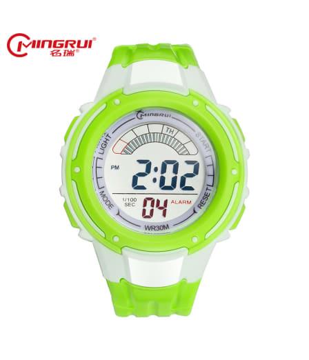 MINGRUI Children Digital Watch Kids Waterproof Silicone Sport Watches Alarm Repeater Luminous LED Watch Hour Gift montre enfant