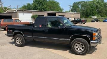 1997 Chevrolet 1500 ext cab 4x4, id 4028