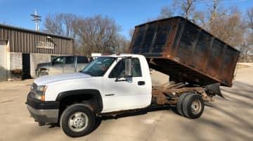 2004 Chevrolet 3500 4x4 dumpbed, id 3973