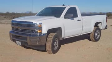2015 Chevy Silverado 2500 Reg Cab Long Bed 4x4 Auto 6.0 V8, id 3987