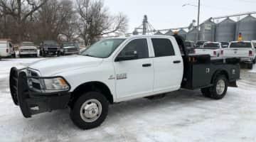2014 DodgeRam 3500 crewcab dually 4x4 diesel, id 3975