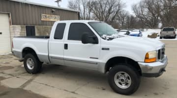 2000 Ford 7.3 powerstroke F250 Supercab 4x4, id 3974