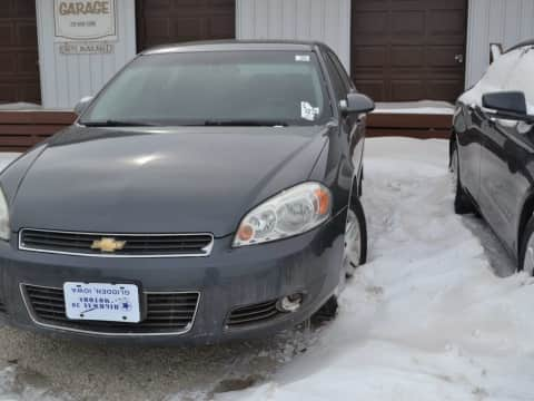 2010 CHEVROLET IMPALA car for sale Glidden, IA - stock number 3982
