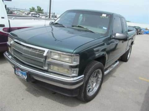 1995 Chevrolet 1500 ext cab 4x4 truck for sale Exira, IA - stock number 4024