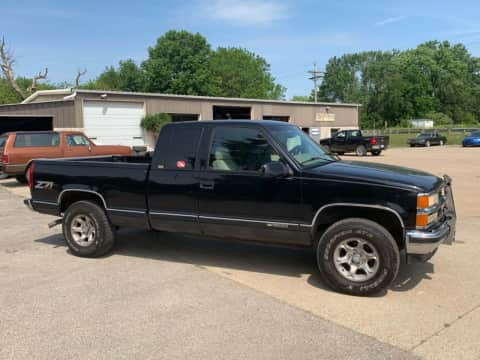 1997 Chevrolet 1500 ext cab 4x4 truck for sale Exira, IA - stock number 4028