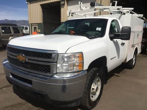 2013 Chevrolet 2500 reg cab 4x4 gas truck for sale Exira, IA - stock number 4008