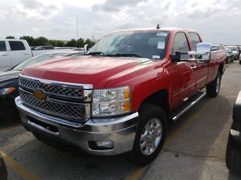 2013 Chevrolet 3500 SRW crewcab longbed 4x4 diesel truck for sale Exira, IA - stock number 4003