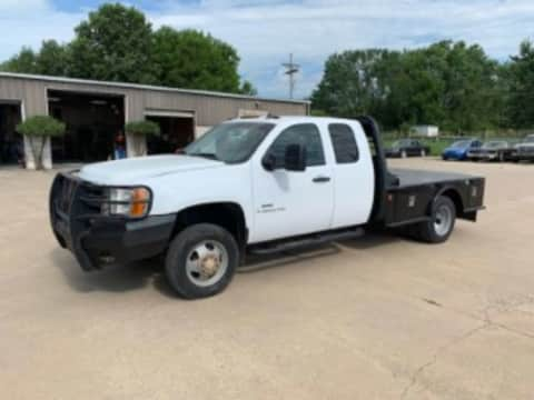 2008 Chevrolet 3500 x cab dually 4x4 diesel truck for sale Exira, IA - stock number 4038
