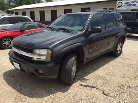 2003 Chevrolet TrailBlazer suv for sale Any Town, IA - stock number 3786