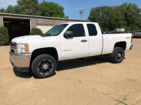 2013 Chevy 2500 HD 4x4 gas truck for sale Exira, IA - stock number 3946